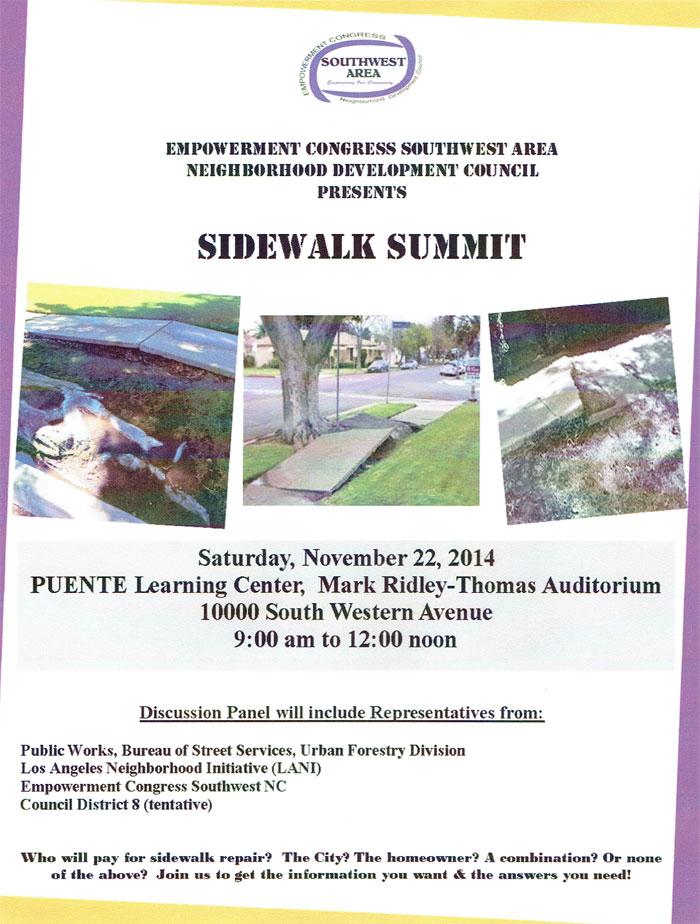 Sidewalk Summit
