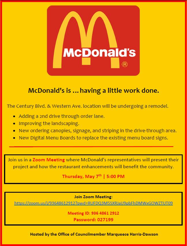 McDonald's Meeting