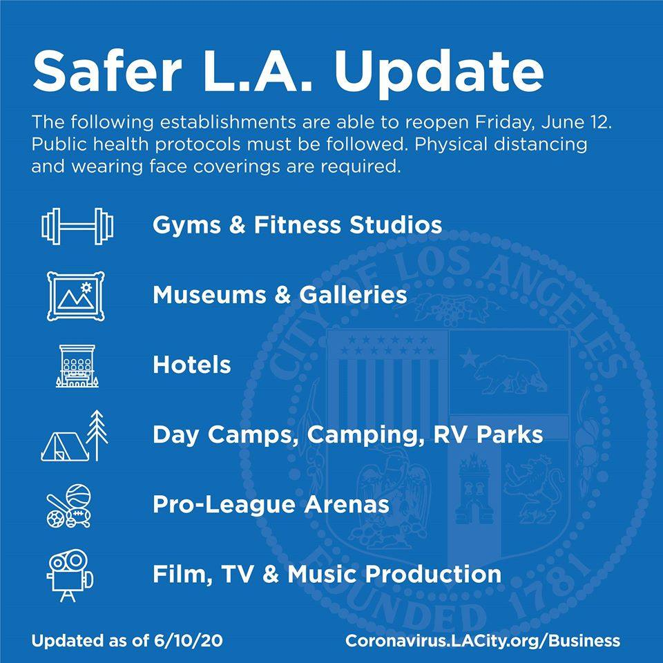 Safer LA Update: Open 6-12