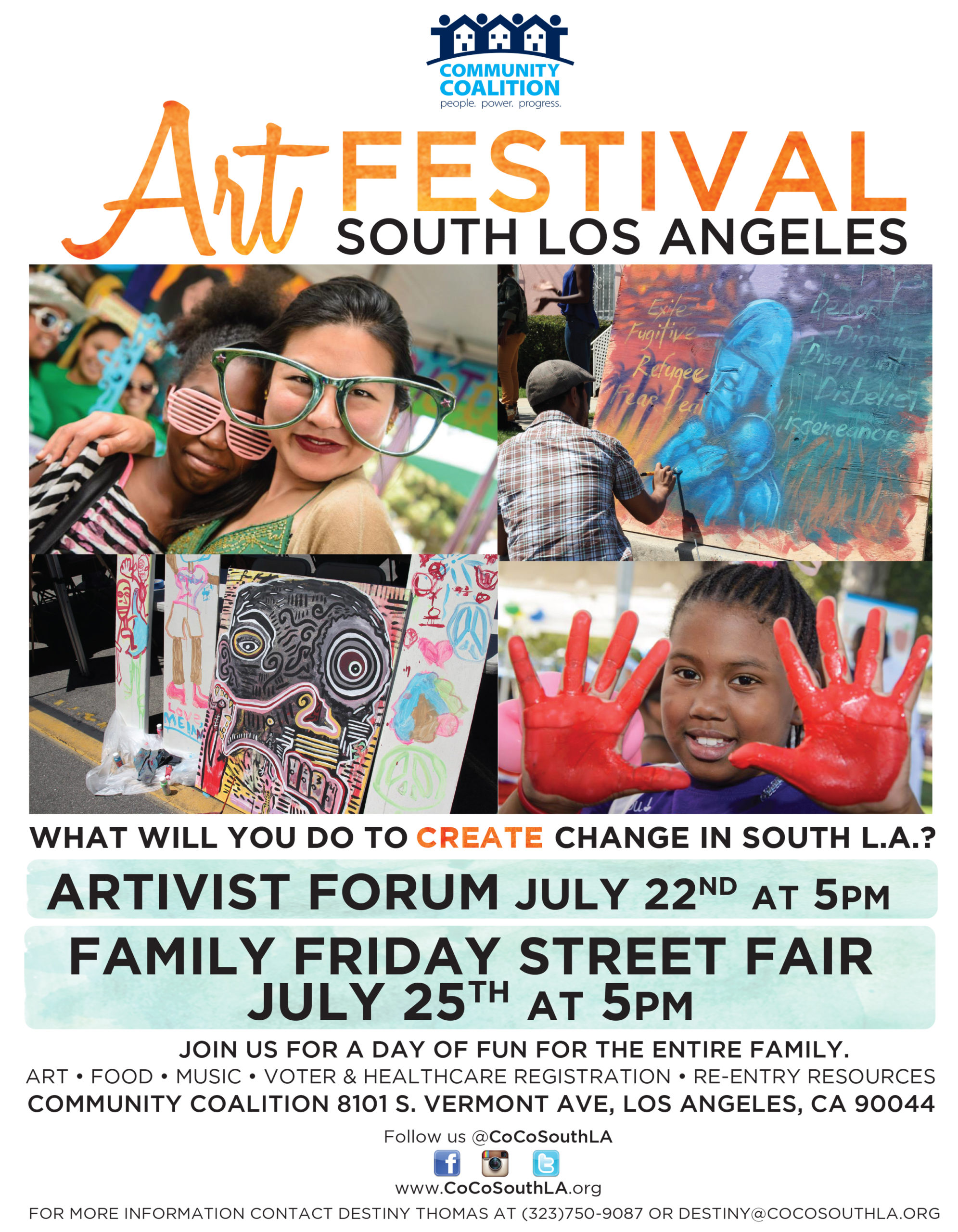 Community Coalition Art Festival