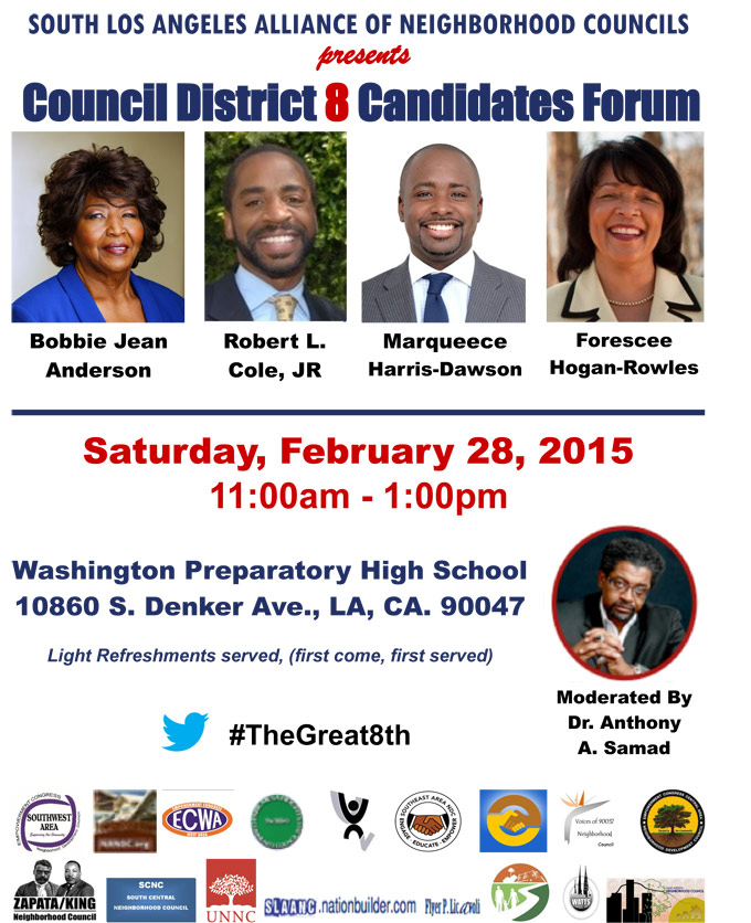 The Great 8th Council District Candidates Forum