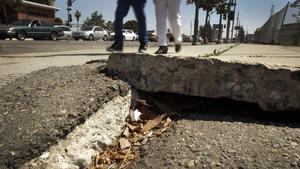 L.A. lawmaker 'astonished' at sidewalk repairs