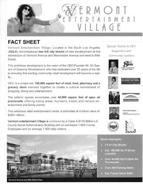 Vermont Entertainment Village Breaks Ground