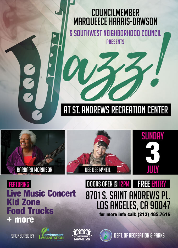 Jazz at St. Andrews Recreation Center