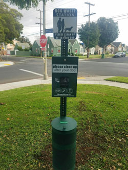 Empowerment Congress Southwest Deploys Dog Waste Stations at St. Andrew's Recreation Center
