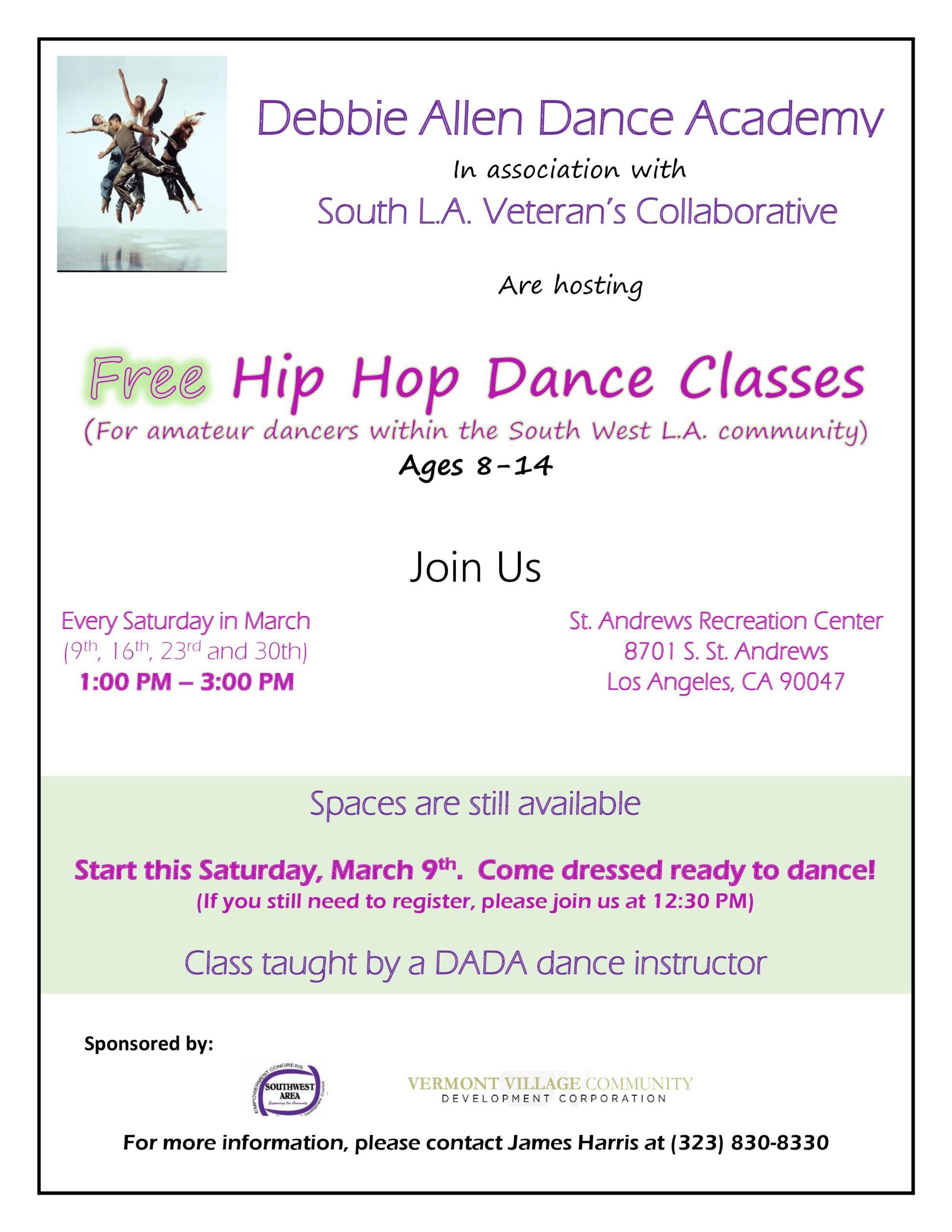 Free Hip Hop Class
