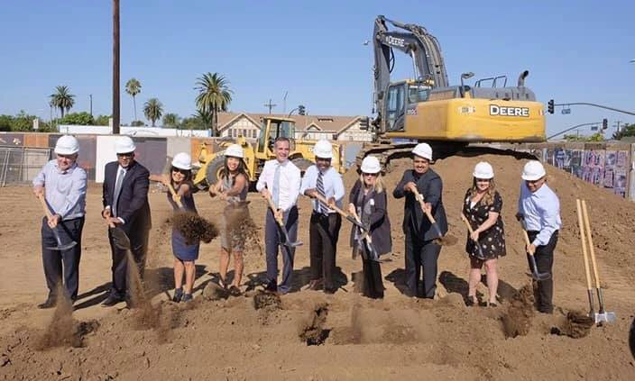 New Homeless Housing Breaks Ground at The Pointe On Vermont