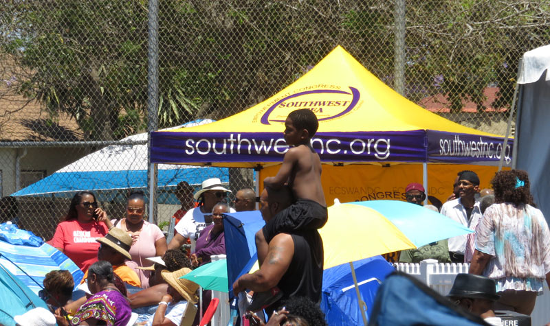 Southwestnc easy up at jazz festival