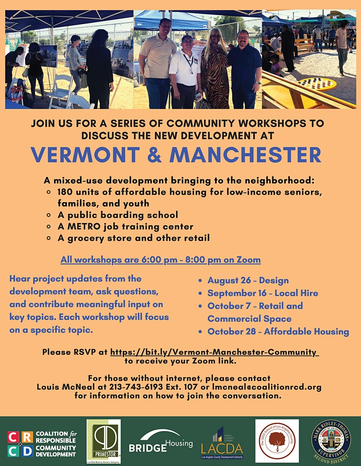 Vermont & Manchester Workshop