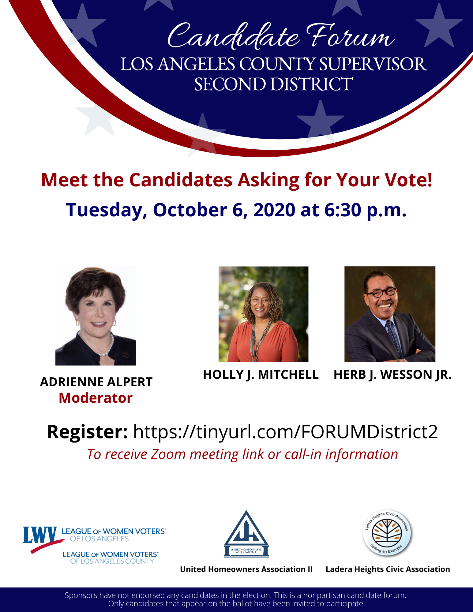 County Supervisor Candidate Forum