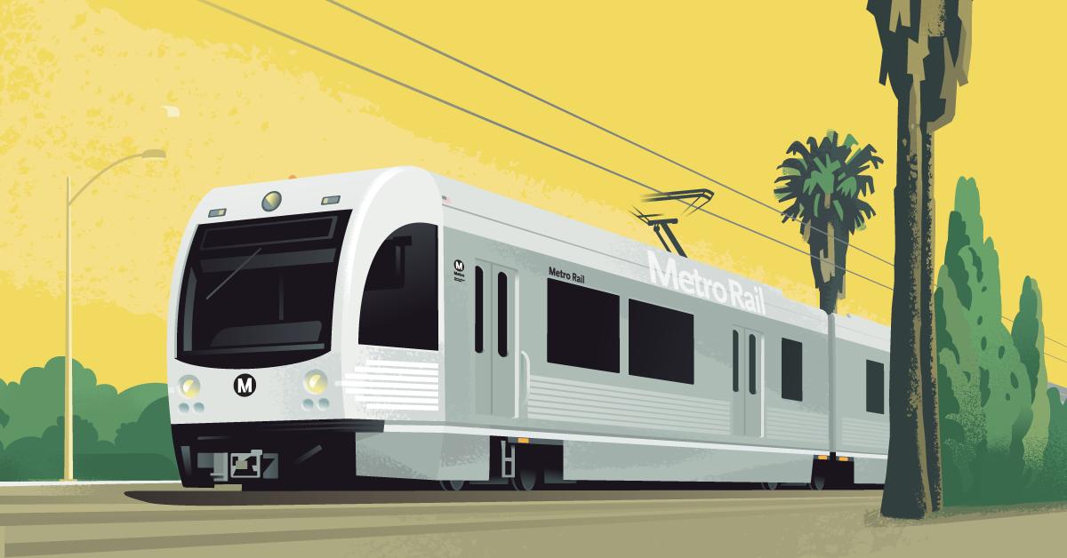 metro train image