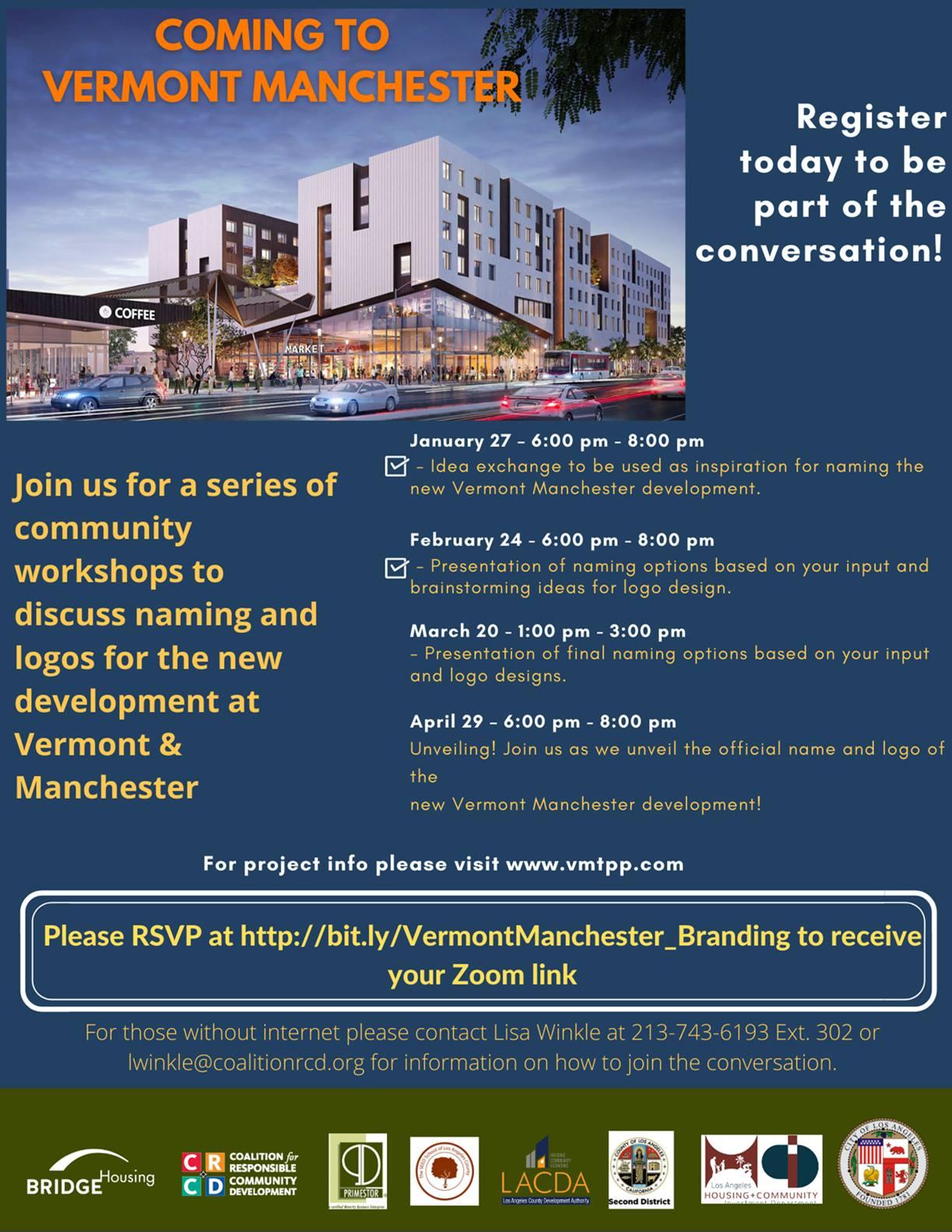 Vermont Manchester branding meetings
