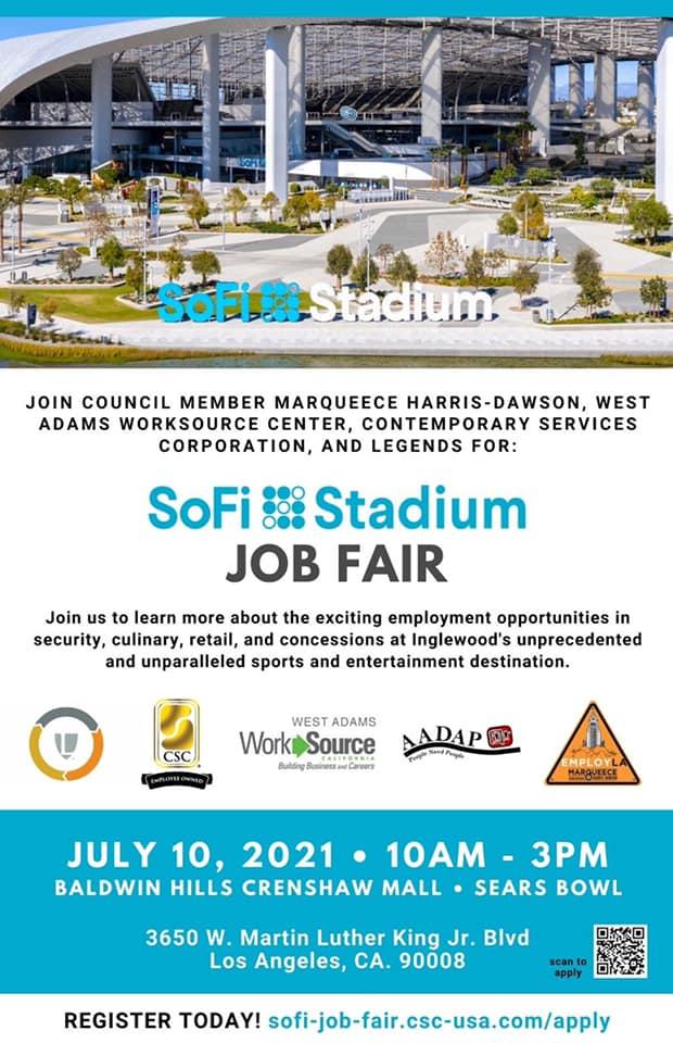 sofi stadium job fair