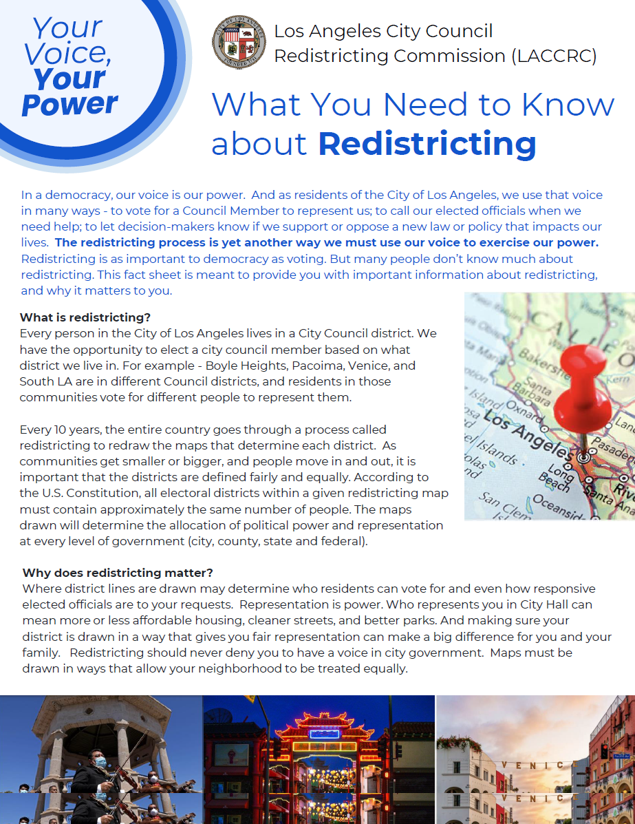 Redistricting Hearing