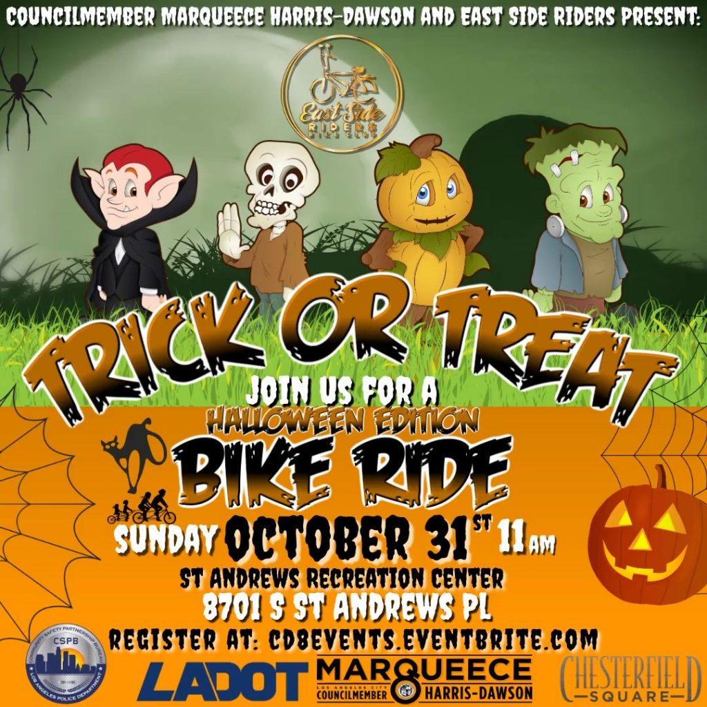 Trick or Treat Bike Ride